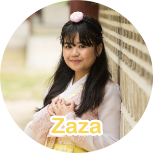 Zaza is our Nid Support.⁠ She handles logistics, packaging, material handler, assist during events, and studies social media trends! She makes sure Lunanid® Co runs systematically and has the muscle in the team! (Whoa you go big guy! 💪)⁠ 💙⁠ She loves art, KPop, and watching funny videos! 🎨🎵⁠